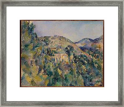 View Of The Domaine Saint-joseph Framed Print by Celestial Images