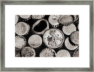 Framed Print featuring the photograph  Vintage Opener  by Andrey  Godyaykin