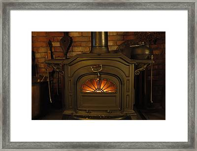 Warm And Friendly Framed Print