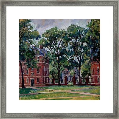 Williams College Quad Framed Print