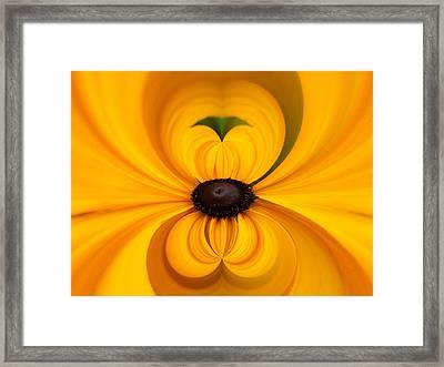 Yellow 3 Framed Print by Jouko Lehto
