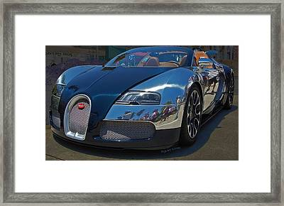 0 To 60 In 2 Framed Print by DigiArt Diaries by Vicky B Fuller