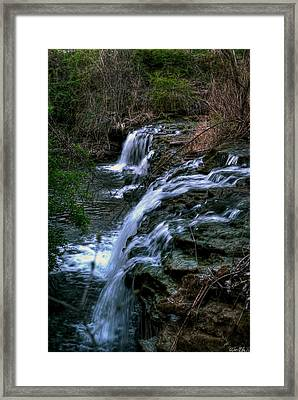 0001 Three Sister Islands Series Framed Print by Michael Frank Jr