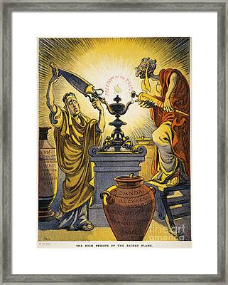 Yellow Journalism, 1909 Framed Print