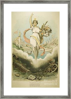 Atlanta Exposition, 1895 Framed Print