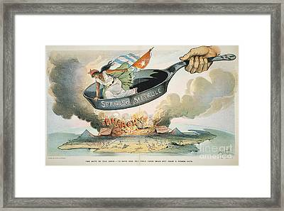 Spanish-american War, 1898 Framed Print by Granger