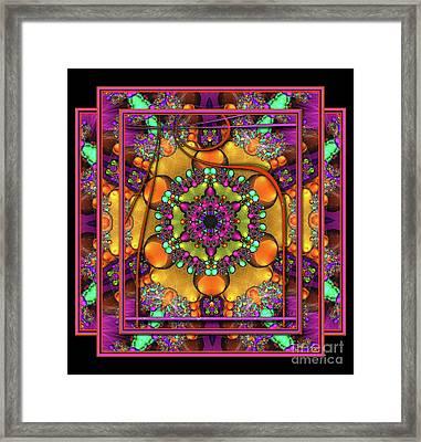 001 - Mandala Framed Print