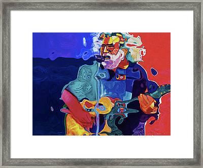 0027 Garcia By Nixo Framed Print