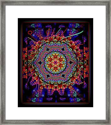 003 - Mandala Framed Print
