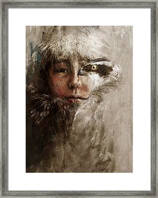 003 Kazakhstan Culture Framed Print by Mahnoor Shah