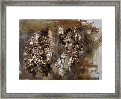 004 Kazakhstan Culture Framed Print by Mahnoor Shah