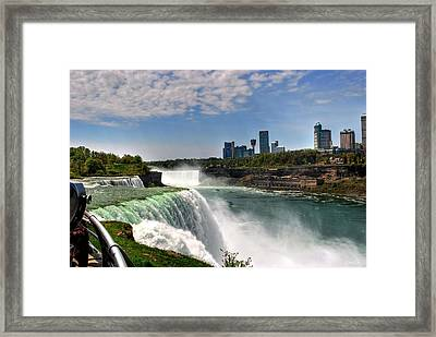 004 Niagara Falls  Framed Print