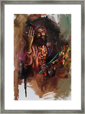 004 Sindh Framed Print