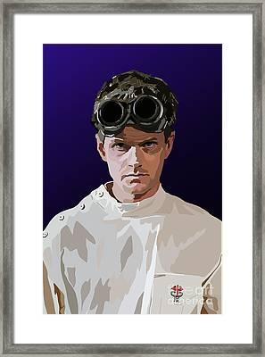 005. Horribly Familiar Framed Print by Tam Hazlewood
