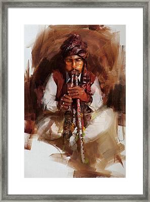 005 Sindh Framed Print