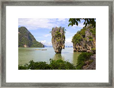 007 Island   2 Framed Print by Mark Ashkenazi