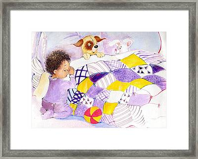 008 Framed Print by Candace Williams