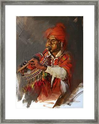 022 Sindh Framed Print