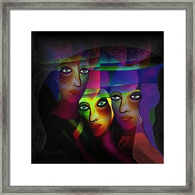 008   Sisters In Pride A Framed Print