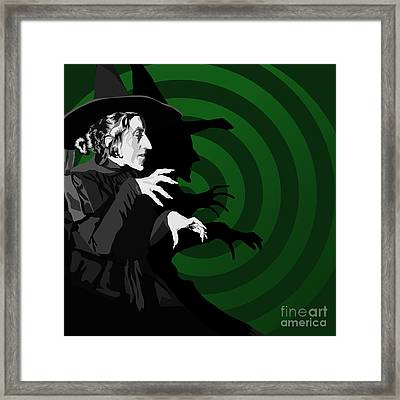 009. Destroy My Beautiful Wickedness Framed Print by Tam Hazlewood