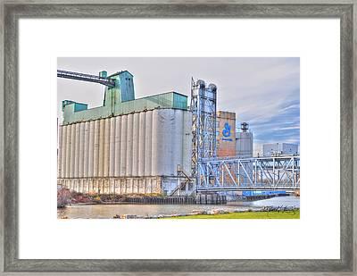 01 General Mills Framed Print