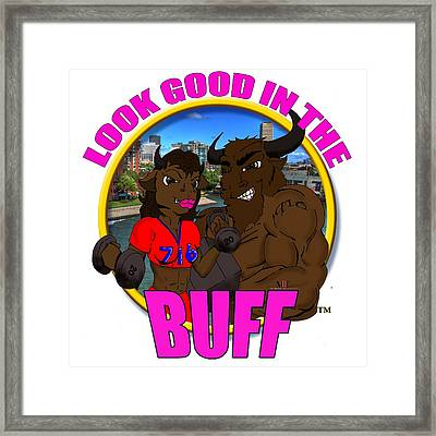 010 Look Good In The Buff Framed Print