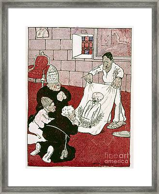 Mexico: Political Cartoon Framed Print by Granger