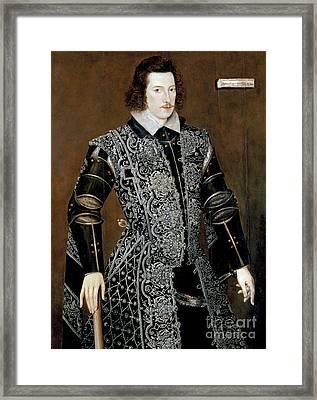 Sir Robert Devereux Framed Print by Granger