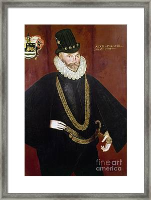 Sir John Hawkins Framed Print by Granger