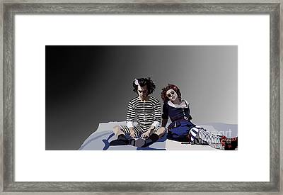 012. The Closest Shave You Framed Print