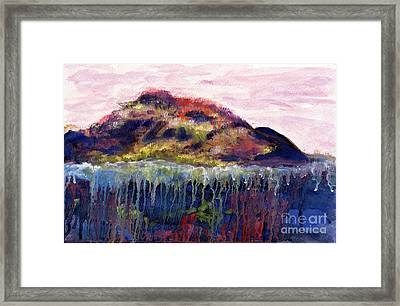 01252 Big Island Framed Print by AnneKarin Glass
