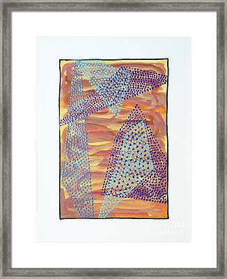 01326 Framed Print by AnneKarin Glass