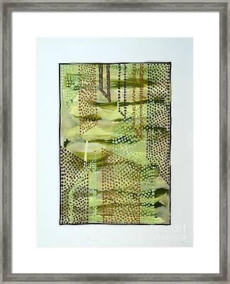 01328 Slide Framed Print by AnneKarin Glass