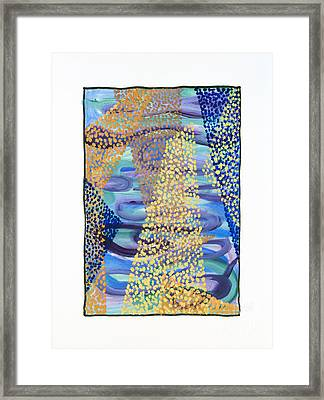 01331 Rise Framed Print by AnneKarin Glass