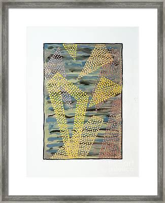 01333 Left Framed Print by AnneKarin Glass