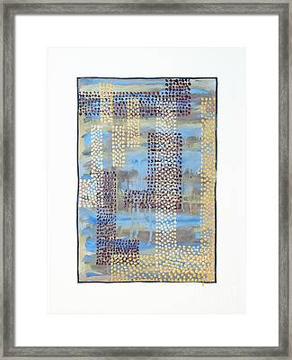 01334 Over Framed Print by AnneKarin Glass