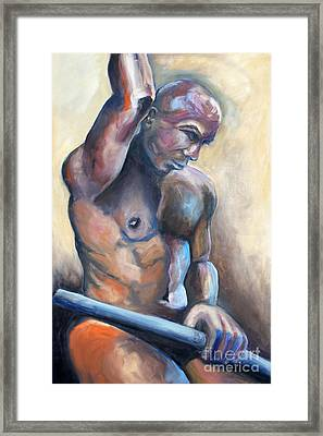 01335 Driver Framed Print by AnneKarin Glass