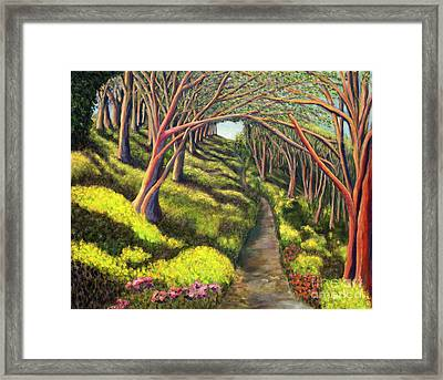 01350  Spring  Framed Print by AnneKarin Glass