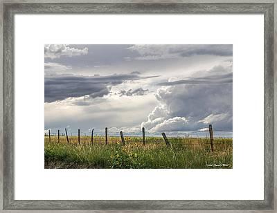 #0149 - Axtel Anceney, Southwest Montana Framed Print