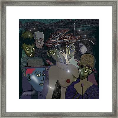 015 - Berlin  The 1920s - The Shining Framed Print
