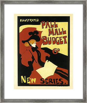 Pall Mall Budget Framed Print by Maurice Greiffenhagen