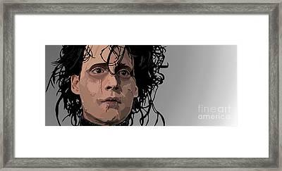 018. I Framed Print by Tam Hazlewood