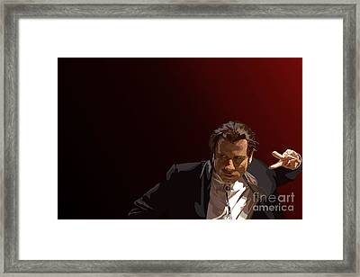 020. After You Kitty Kat Framed Print