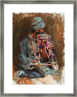 023 Sindh B Framed Print