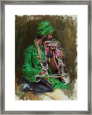 023 Sindh Framed Print