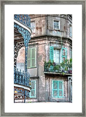 0254 French Quarter 10 - New Orleans Framed Print