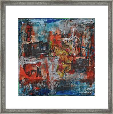 027 Abstract Thought Framed Print