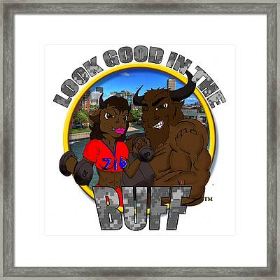 03 Look Good In The Buff Framed Print
