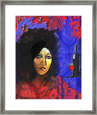 032 - Marie In The Morning  Framed Print by Irmgard Schoendorf Welch