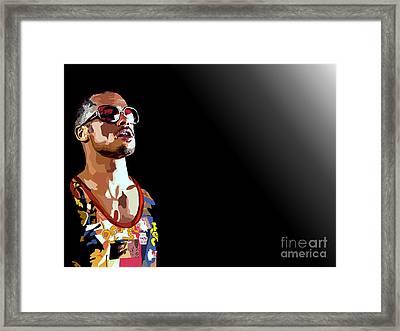 033. We Framed Print